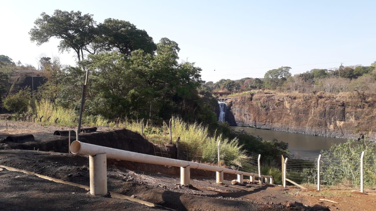 Cemig implanta estrutura para a devolução de peixes ao rio Araguari